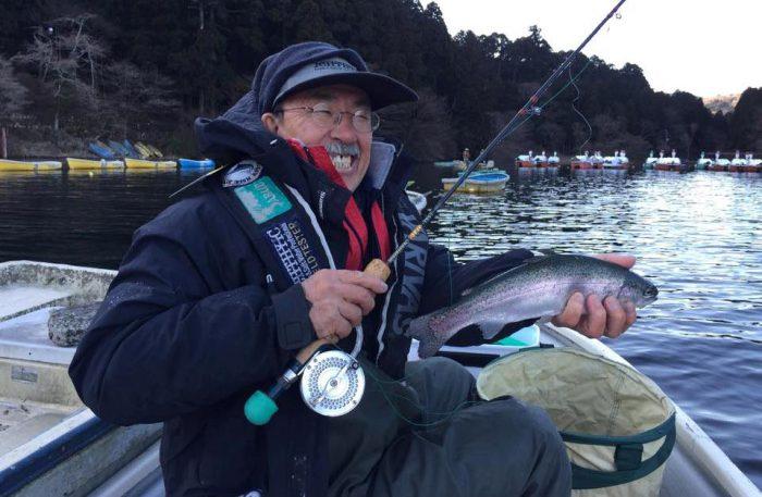 ヤッパリ釣りは腕ですな!